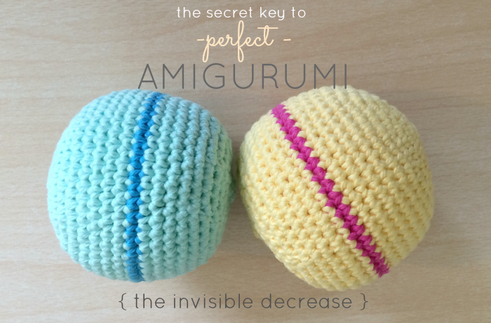 How To Make An Amigurumi Ball : The Secret To Perfect Amigurumi + Crochet Ball Pattern