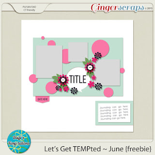 June 2015 Template Challenge 2 Tmplate by Dagi's Temp-tations