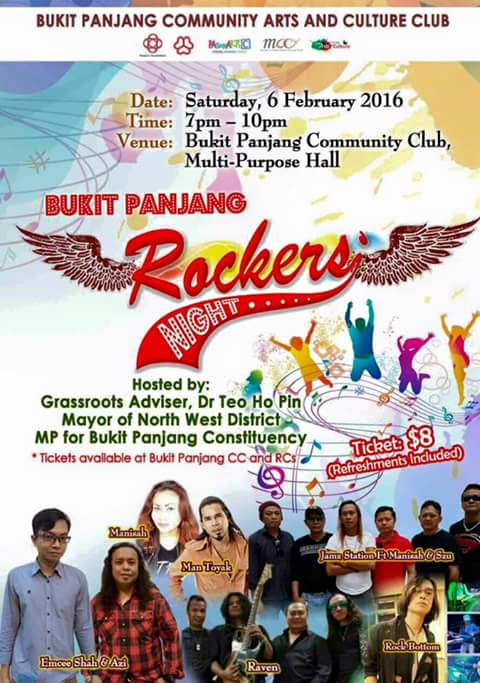Event Rockers Night Bukit Panjang