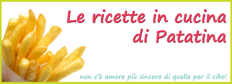le ricette in cucina di patatina