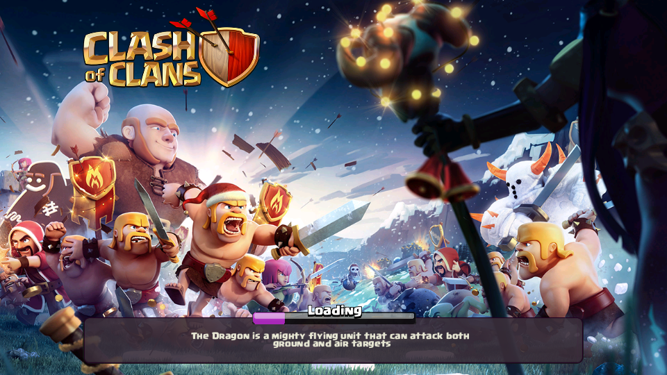 Update Terbaru Clash of Clans Christmas