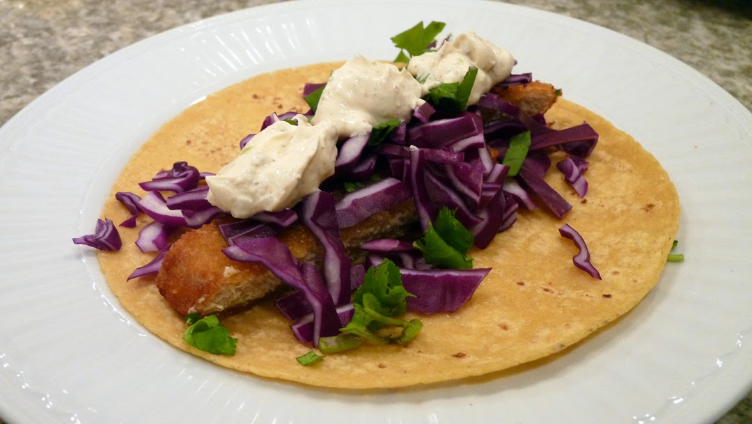 Vegetarian baja fish tacos for Sides for fish tacos