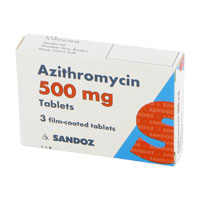 What is the antibiotic azithromycin used for