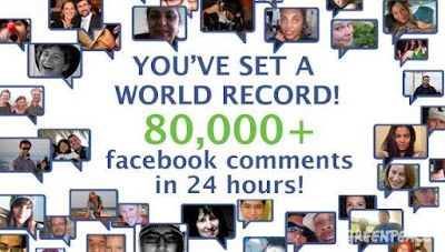 Most number of comments on a Facebook, Most number of comments on a Facebook 2011, Facebook comment Guinness World Record, Greenpeace world records, Unfriend Coal, highest number of comments on a Facebook
