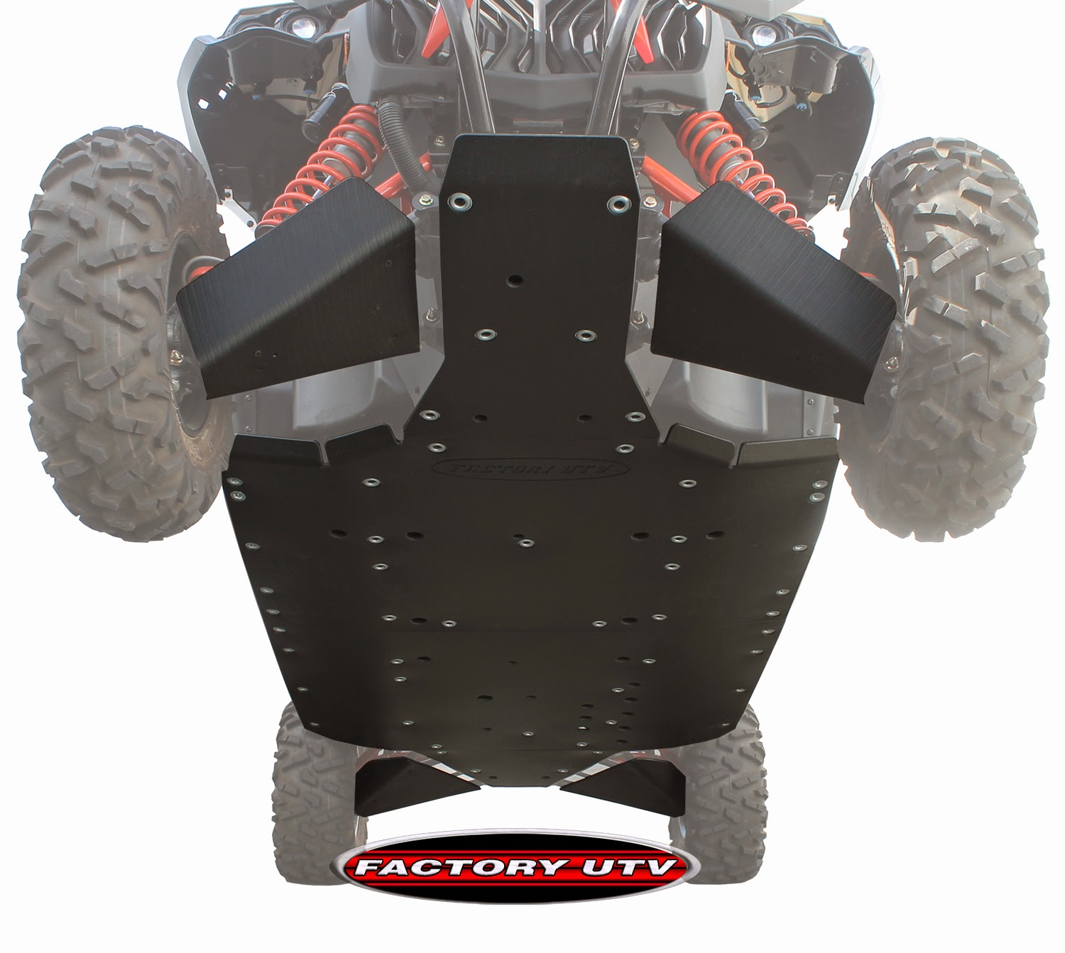 Can Am Maverick Max UHMW Skid Plate