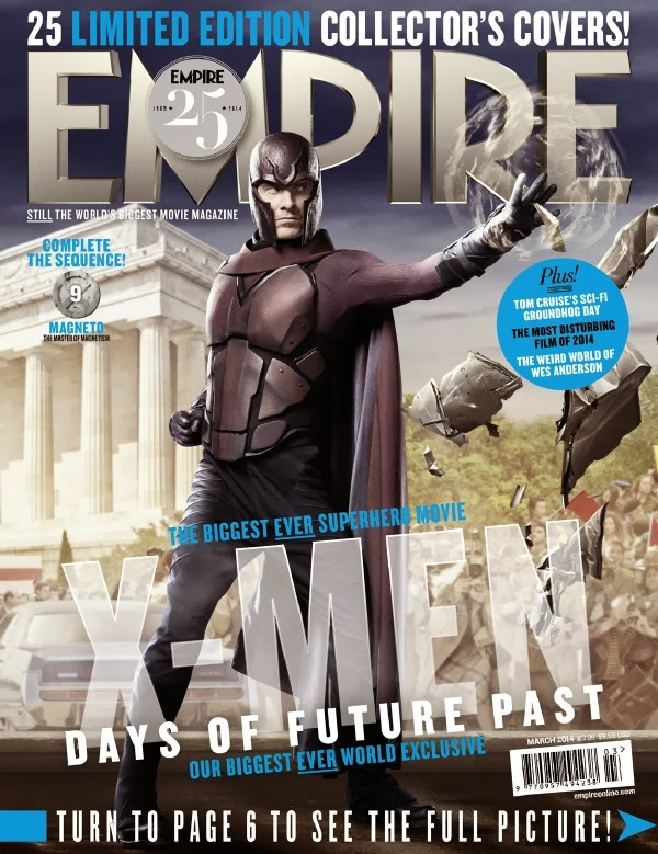 Empire covers X-Men: Days of Future Past: Magneto
