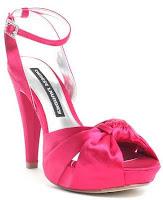 chaussures de mariée rose