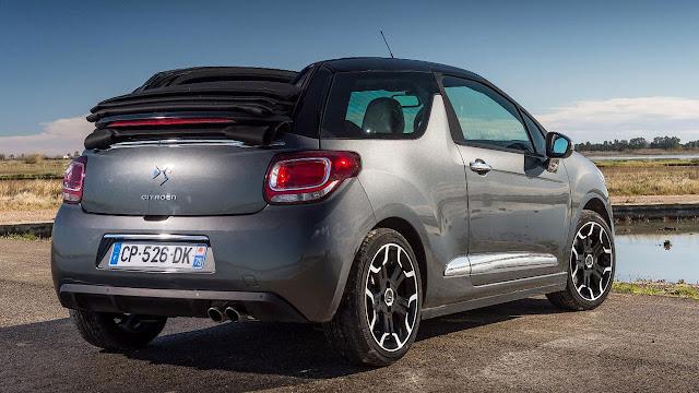 Citroën DS3 Cabrio back