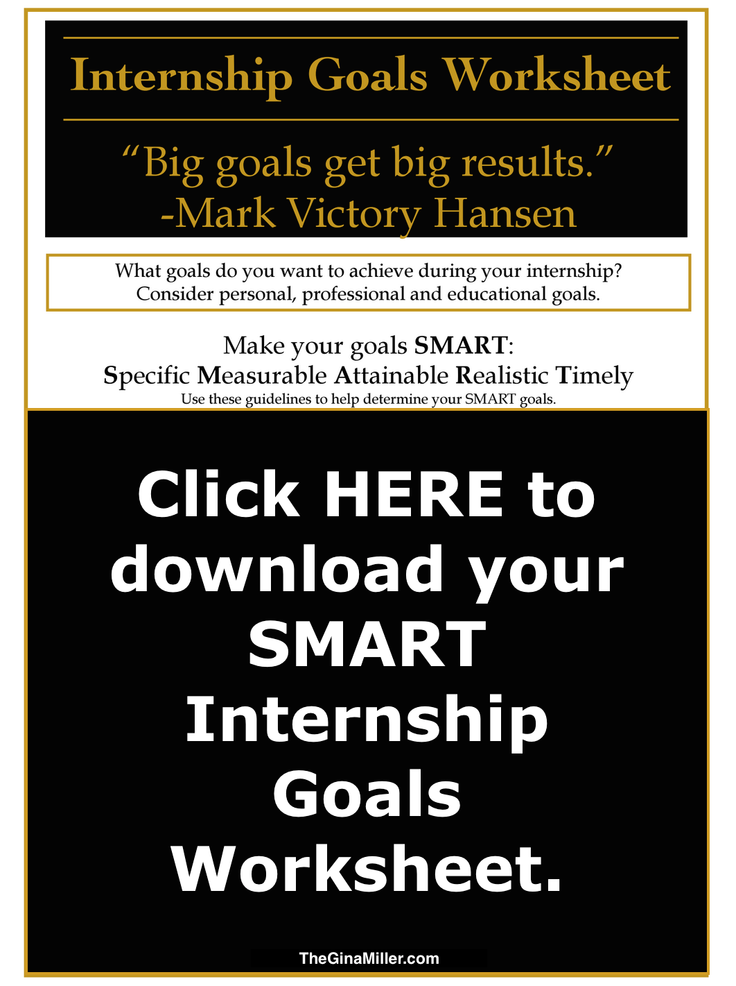 Get The Most Out Of Your Internship!