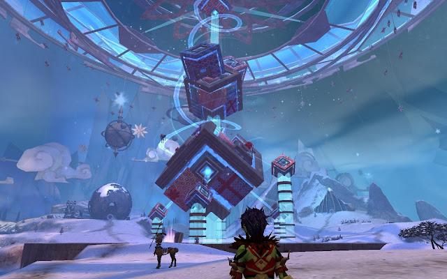 GW2 Guild Wars 2 Wintersday Tixx's Infinirarium