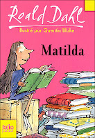 Matilda, Roald Dahl, jeunesse