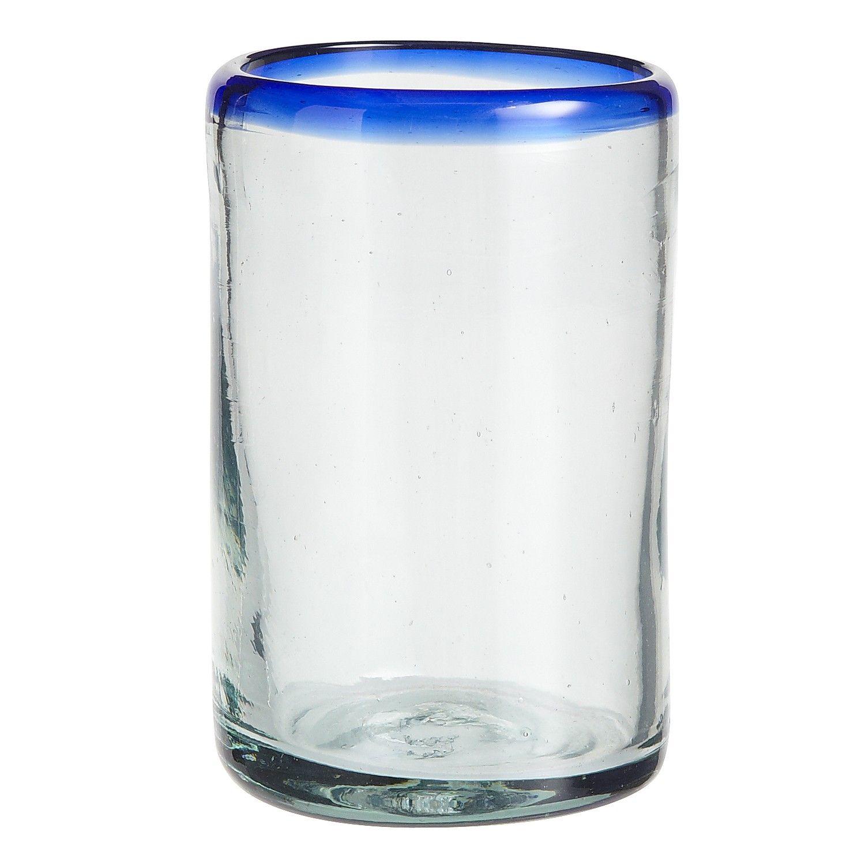 cobalt rim tumbler