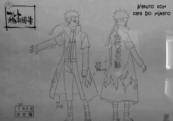 """Novidades """"Road To Ninja""""   (Scans) Hokage-Naruto-Drawing"""