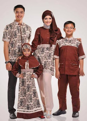 Desain Busana Muslim Keluarga Untuk Lebaran