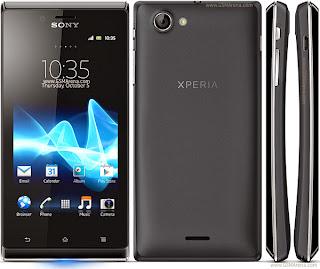 Прошивки для Sony XPeria J