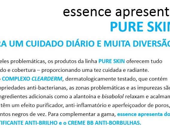Novidades ESSENCE: Gel matificante anti-brilho & BB Cream anti-borbulhas