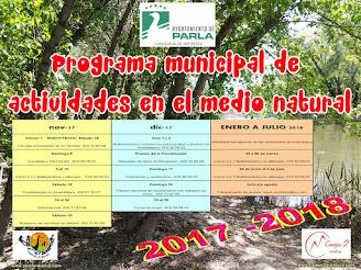 Programa Municipal de Actividades en el Medio Natural