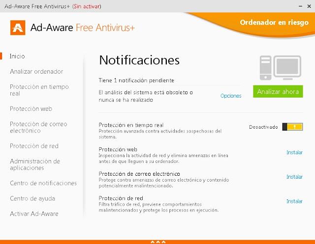Ad-Aware 11 Total Security - Solo Nuevas