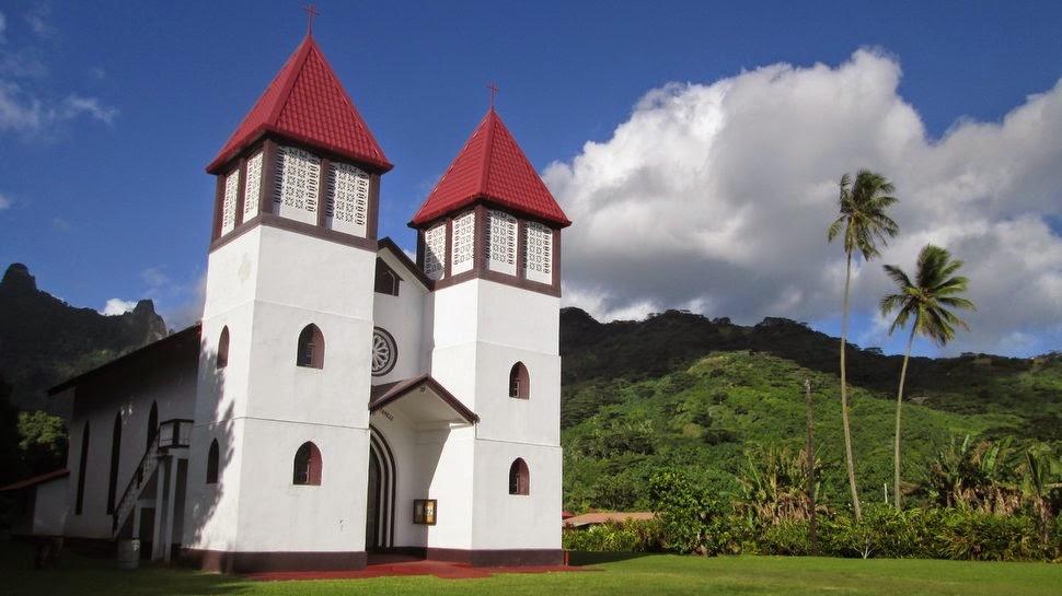 Eglise de Haapiti
