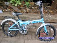 Sepeda Lipat Pacific 20-2588D Rangka Aloi dan Rem Cakram 20 Inci 2