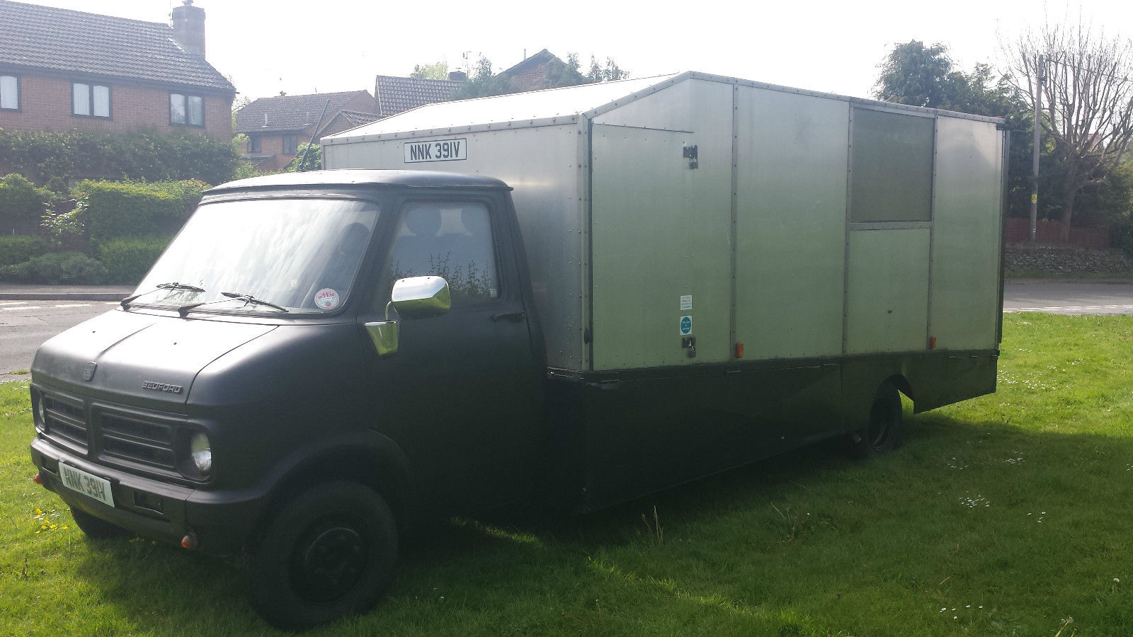 Bedford CF2 Van: ebay: Bedford CF V8 Recovery/Transporter Truck - UK