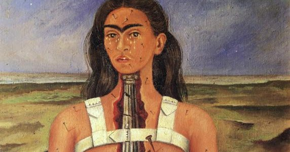 the hickory head hermit frida kahlo �the broken column�