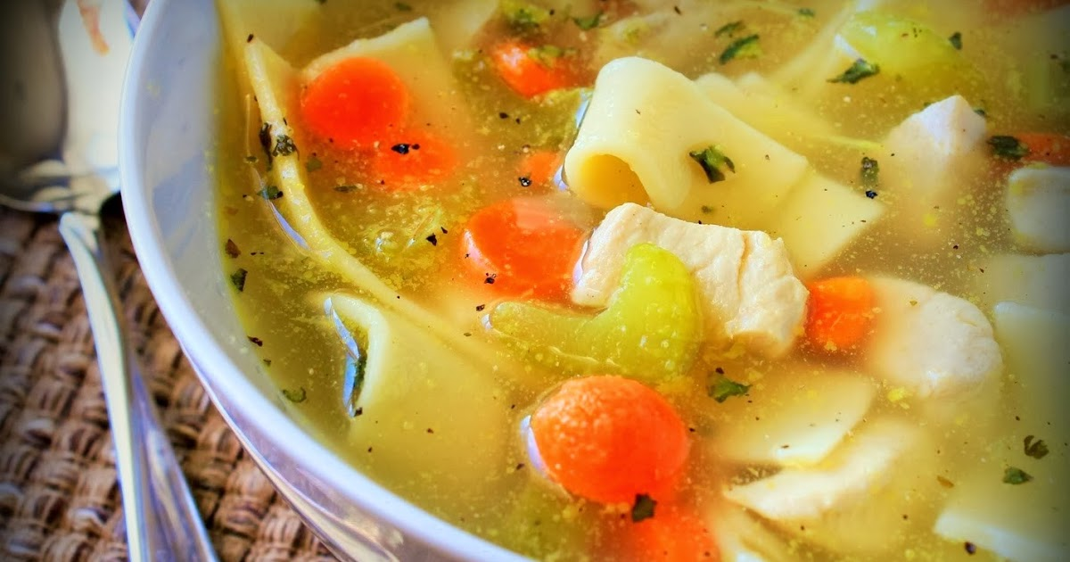 Dinner recipes idea how to make a simple chicken noodle for How do you make chicken noodle soup
