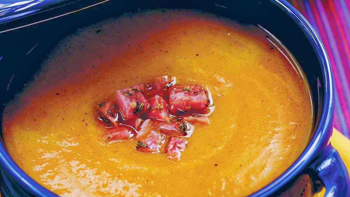 zesty-winter-squash-and-red-pepper-bisque-healthy-recipes