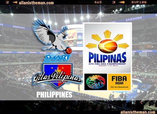 Gilas Pilipinas 27th FIBA Asia Championship