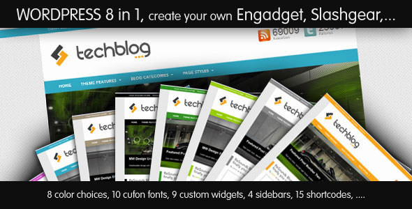 Image for TechBlog – Professional Tech Blog Theme by ThemeForest