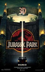 Poster original de Parque jurásico 3D