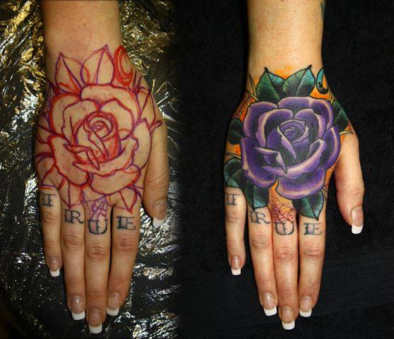 Side Of Hand Tattoos Like Tattoo