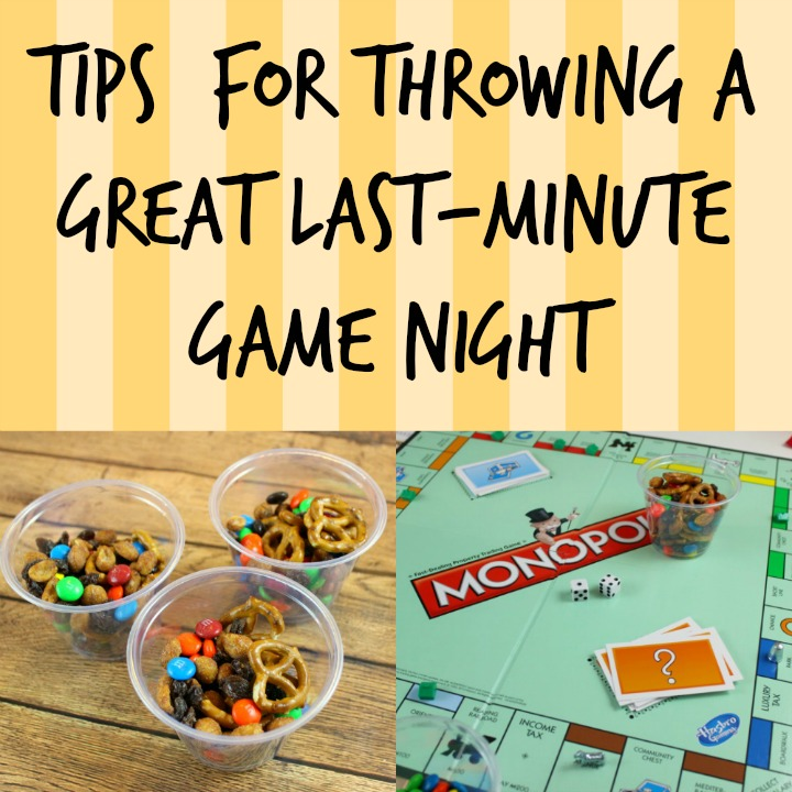 Tips For Throwing a Great Last-Minute Game Night #GameNightIn #CollectiveBias