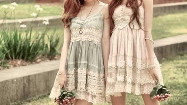 vestido estilo romântico