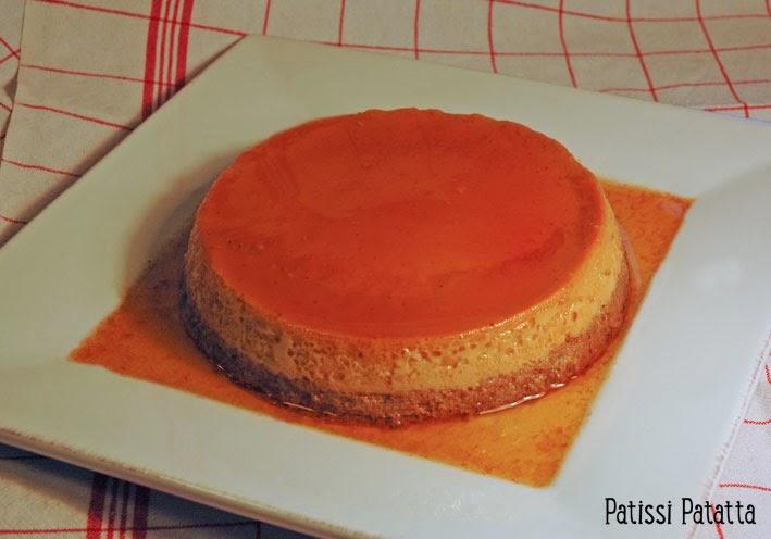 recette de crème renversée, recette avec des carambars, crème renversée, carambars pudding