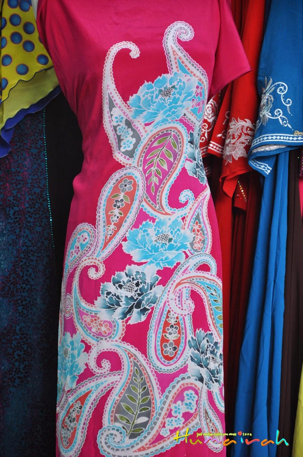 CX78 - Batik Sutera Handmade Exclusive Paisley Pink 2