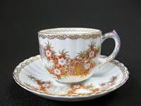 深川製磁 鍋島花兎 コーヒー碗皿 共箱付き 買取