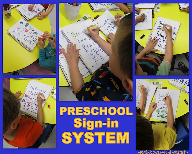 photo of: Fine Motor Development in Young Children, Daily Sign-in System for Preschool