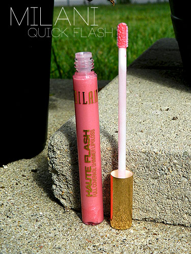 milani quick flash lipgloss