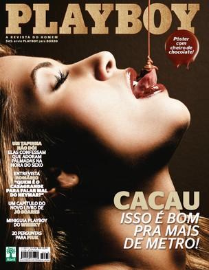 Confira as fotos da volta da  Delicia do Big Brother Brasil 10, Cacau Colucci, capa da Playboy de novembro de 2011!