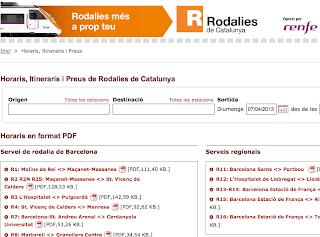 Imatge web Rodalies