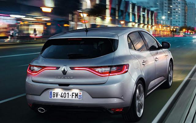 Novo Renault Megane 2016 - traseira