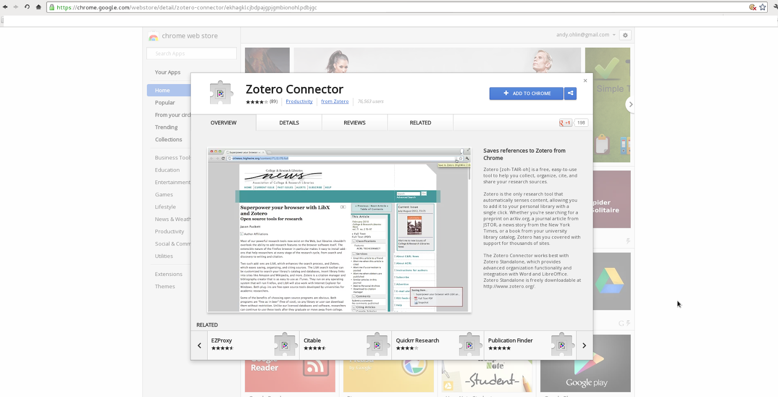 To Make It Work In Chrome, Install The Extension