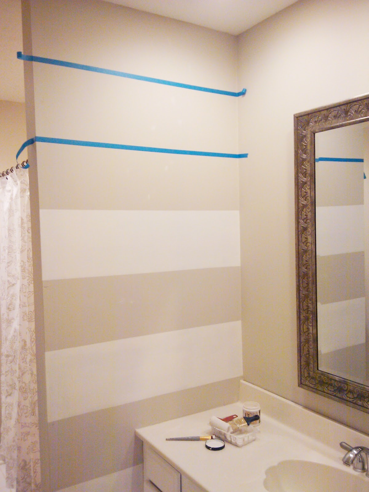 LiveLoveDIY: How To Paint Stripes: the easiest tutorial ever!