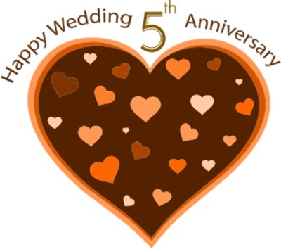 My 5th Wedding Anniversary