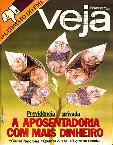 UNIVERSO TOTAL CAPAS : CAPAS DA REVISTA VEJA ANO 1983