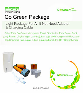 Power Bank Eser Eagle Go-green 8800