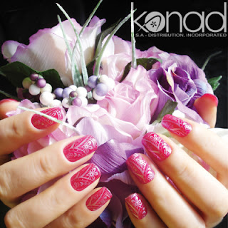 Nail polish konad stamping nail art the konad stamping nail art kit has been on my wish list for quite some time now after browsing through their online store ive been scouting where i prinsesfo Choice Image