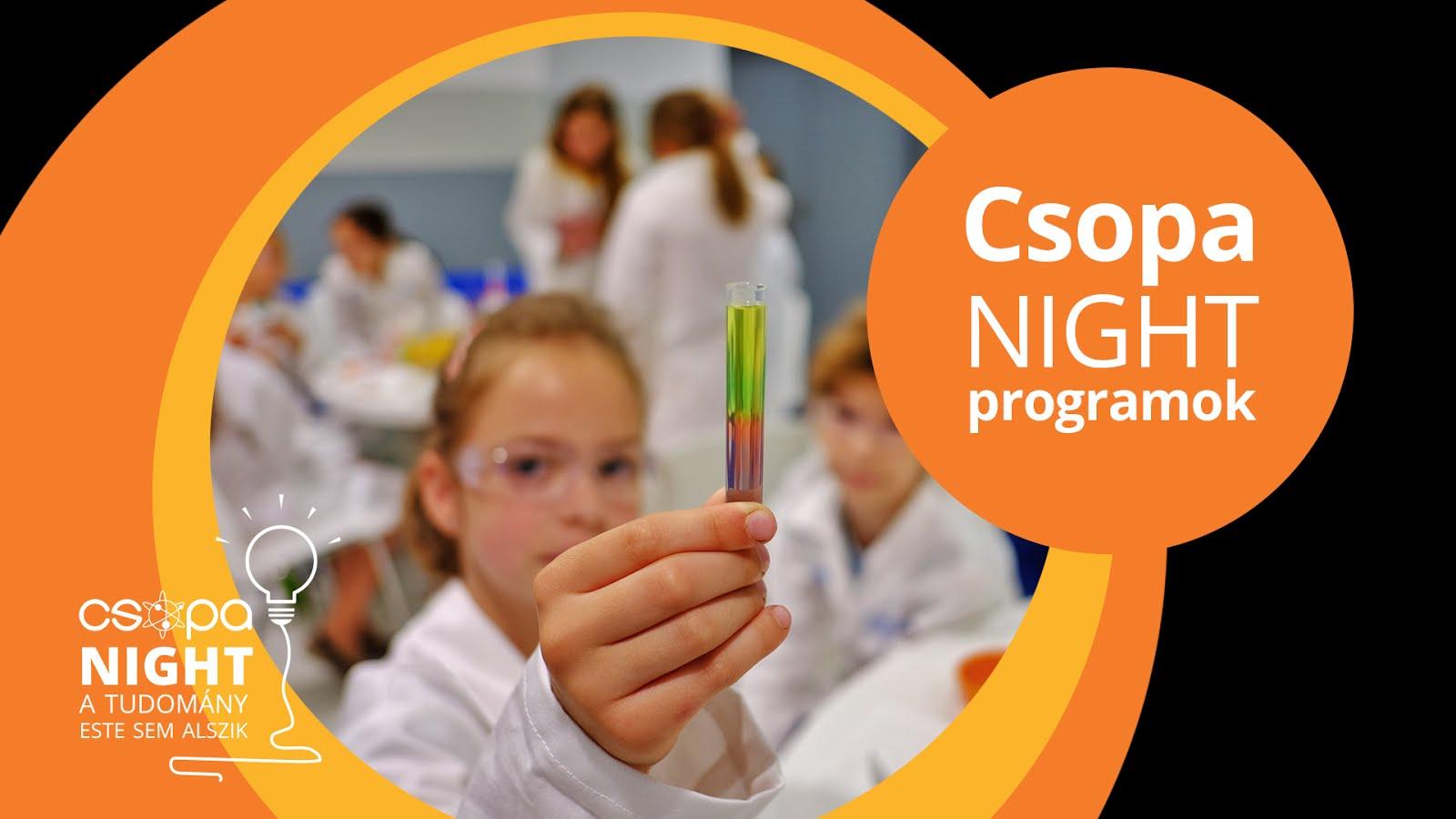 Csopa Night online közvetítések