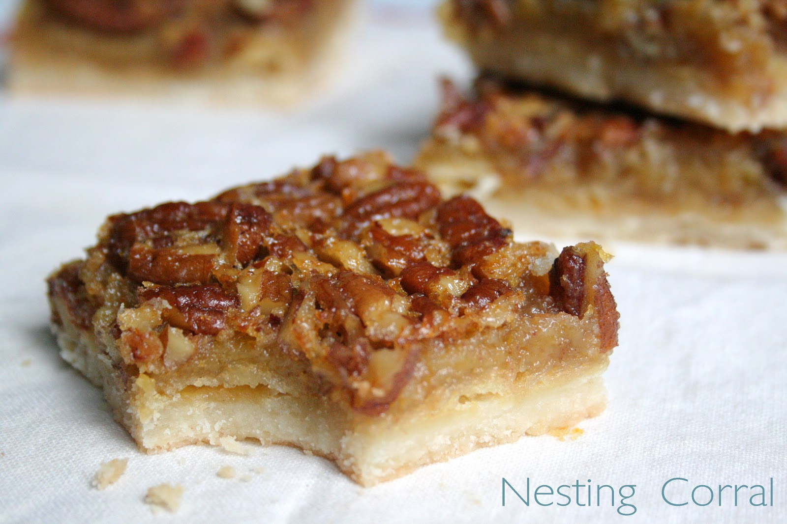 The Nesting Corral: Pecan Pie Bars